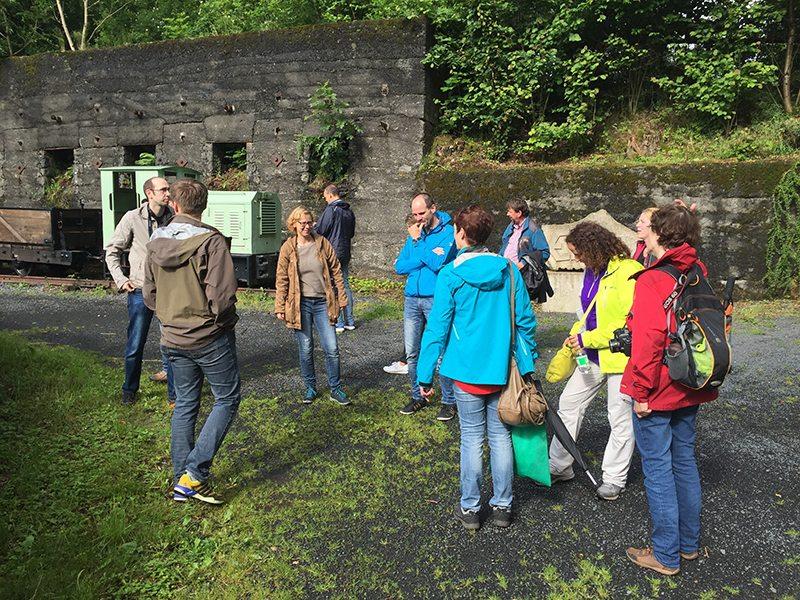 Hier steht ein Bild mit dem Titel: Basaltpark Bad Marienberg. Basalt ist ein faszinierendes Gestein (Foto: Hans-Joachim Schneider)
