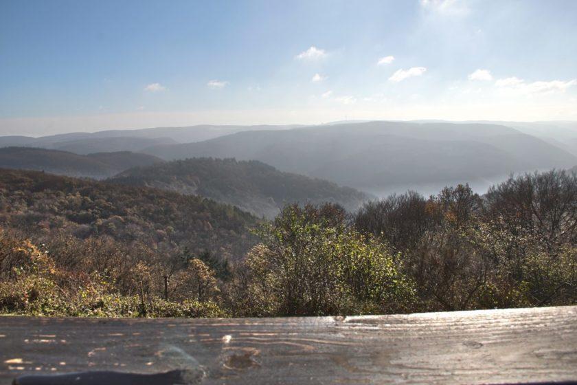 Panoramen vom Steinerberg, eines faszinierender als das andere (Foto: Norbert Schneider)