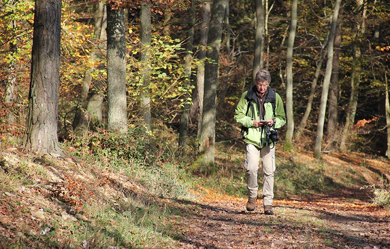 Hier steht ein Bild mit dem Titel: Matsch as Matsch can – reichlich nasse Tour im Hohen Venn mit meinen Lowa-Bergschuhen (Foto: Hans-Joachim Schneider)