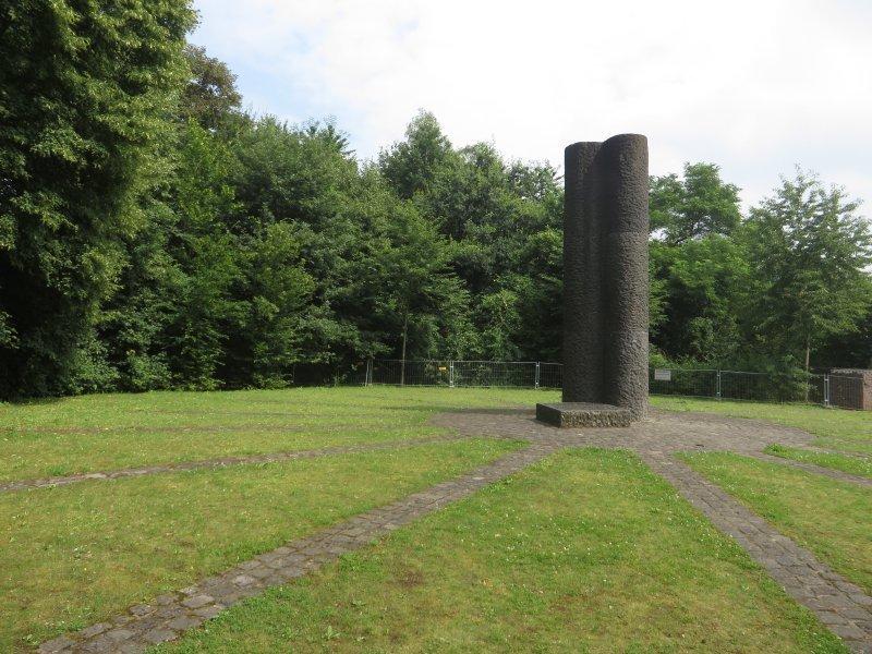 Stele, Platz, Rheinburgenweg, Rittersprung