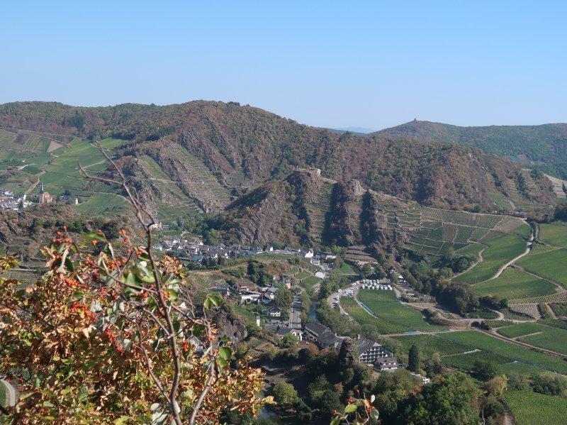 Mayschoß, Weinberge, Hügel, Sonne, Ahrtal