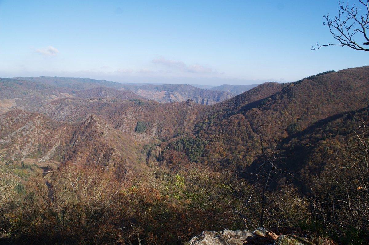 Ahrtal erleben auf alten Wegen, Blick vom Hornberg