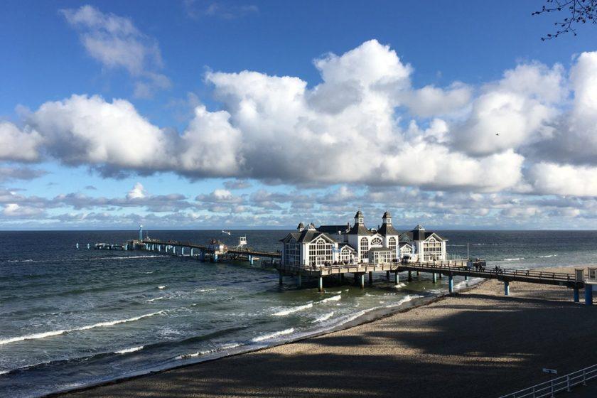 Sonne und Wolken – Wandern auf Rügen
